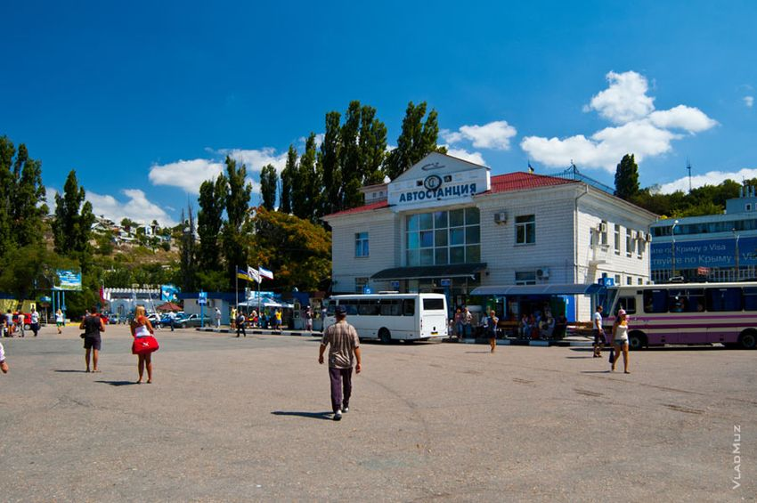 Обращение к водителям автобусов Севастополь - Ялта