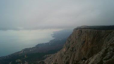 Подъём по перевалу Керезла