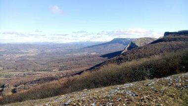 Вид на Соколиное и горы