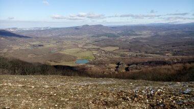 Вид с Кабаньего перевала